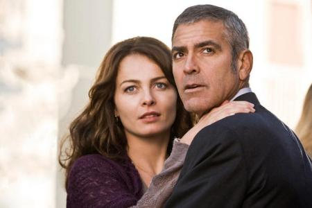 George Clooney in The American