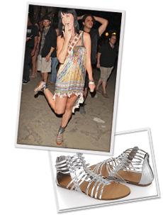 Hottest trends in gladiator sandals