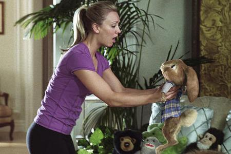 Kaley Cuoco stars in Hop with, yes, the Easter Bunny!