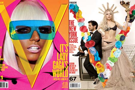 Lady Gaga Drawn This Way contest for V Magazine