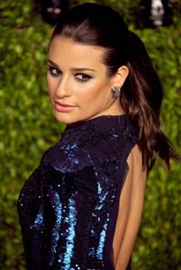 Lea Michele OK after car crash