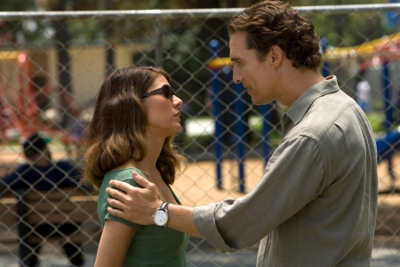 Marisa Tomei and Matthew McConaughey in The Lincoln Lawyer