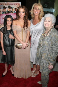 Lindsay Lohan and family - WENN