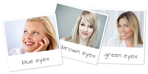 Makeup tips for your eye color, hair color and face shape