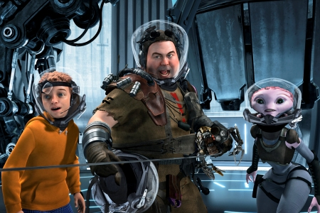 Mars Needs Moms stars Seth Green, Dan Fogler and Elisabeth Harnois