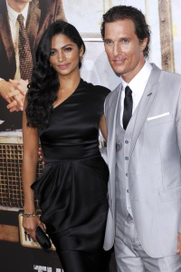 Matthew McConaughey and Camila Elves