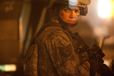 Michelle Rodriguez in Battle: Los Angeles