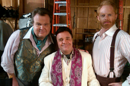 Nathan Lane on Modern family