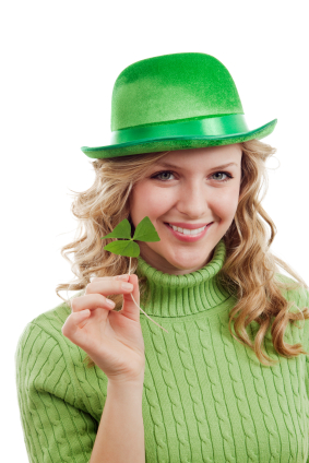 Get Irish luck with clovers on St. Patrick's Day