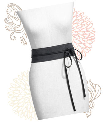 Leather obi belt, $108 at Nordstrom