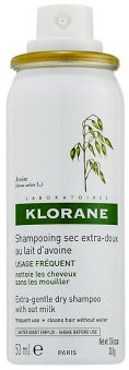 Klorane Gentle Dry Shampoo With Oat Milk Spray To Go