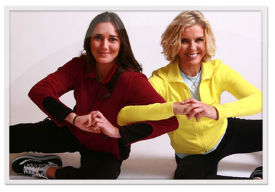 Get Pilates fit with a partner