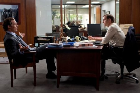 Matthew McConaughey and Patrick Wilson in The Lincoln Lawyer