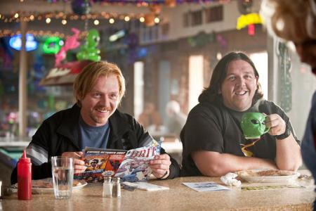 Simon Pegg and Nick Frost in Paul