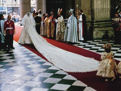 Princess Diana's royal wedding dress