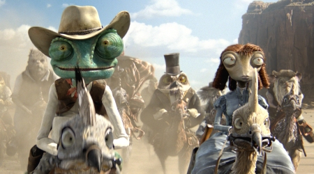 Rango starring Johnny Depp tops the box office