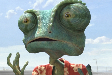 Johnny Depp is Rango