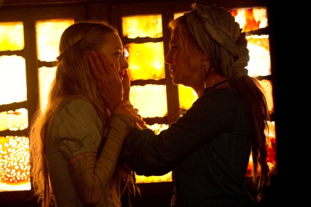 Amanda Seyfried and Julie Christie in Red Riding Hood
