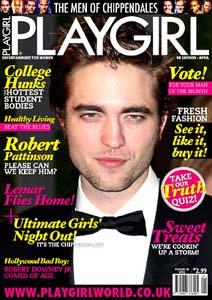 See Robert Pattinson in Playgirl
