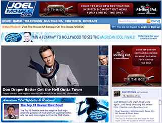 Joel McHale pranked Ryan Seacrest on April Fool's Day 2010