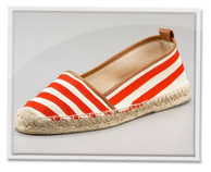 Slip-on espadrille flats