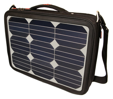 Voltaic Generator Solar-Energy Laptop Bag