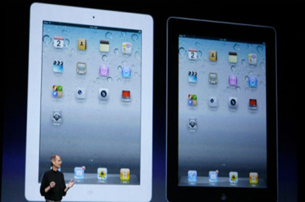 Steve JObs make the iPad 2 announcement