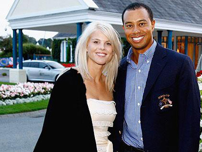 tiger woods girlfriend dui picture. Tiger Woods and Elin