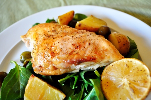Honey and lemon make chicken the perfect spring meal