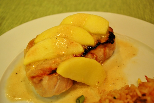 Apples Make these Pork Chops Extra Sweet