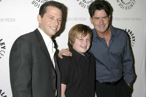 Two and a Half Men cast - WENN