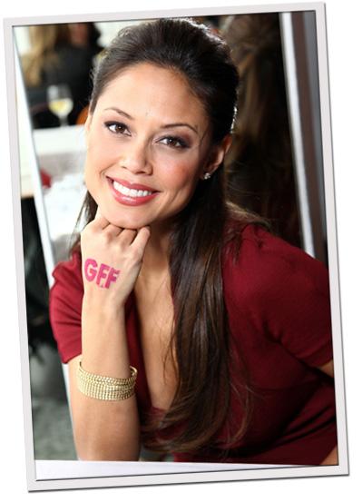 Vanessa Minnillo: Girlfriends for Folate