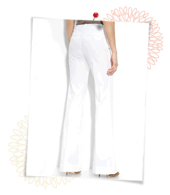 White slacks, $138 at Nordstrom