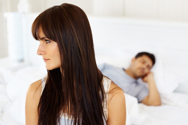 Woman thinking about relationship