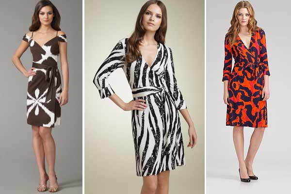 Wrap up style points with wrap dresses