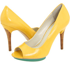 Yellow heels