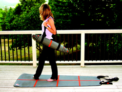May the Force Be With You: YogaForce A-Line Mat