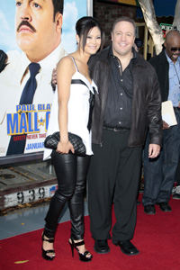 Kevin James and wife Steffiana