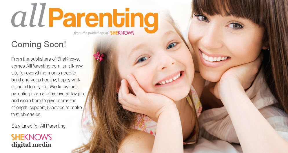 AllParenting.com - brought to you by SheKnows