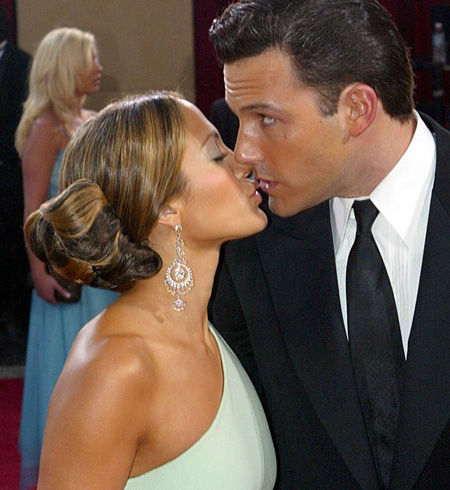 Ben Affleck and Jennifer Lopez: bad celebrity couple