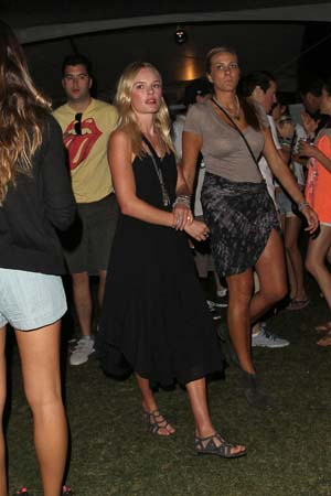 Whitney Port, Alexa Chung at Coachella