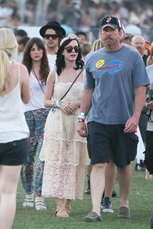 Katy Perry at Coachella 2011