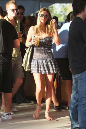 Nicky Hilton at Coachella 2011