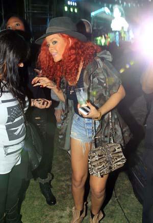 Rihanna at Coachella Day 2