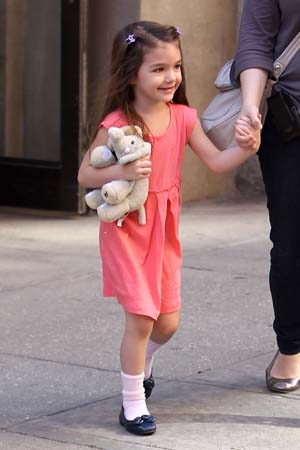 Suri Cruise in New York City