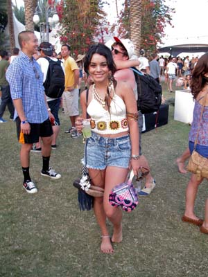 Vanessa Hudgens at Coachella 2011 Day 3