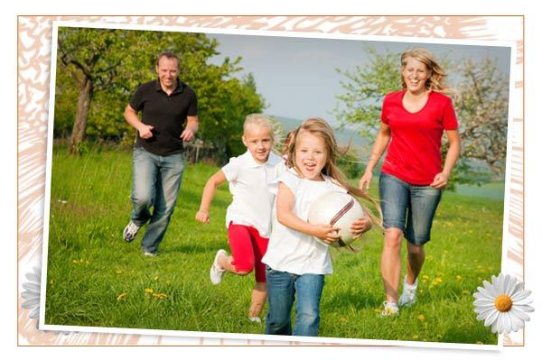 Backyard Family Fun Ideas : Check out some cool ideas for a family friendly backyard >>