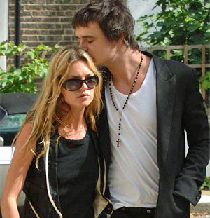 Kate Moss and Pete Doherty: bad celebrity couple