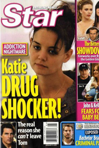 Katie Holmes star magazine cover