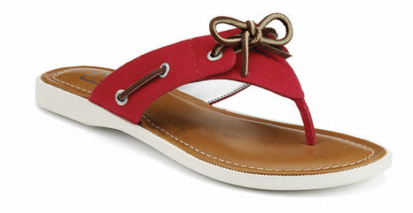 Sperry Top spider, summer fashion, flip flop fashion